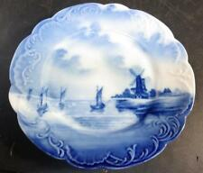 "Antique Rosenthal  Delft Germany Louis XIV 6"" Plate Windmill"