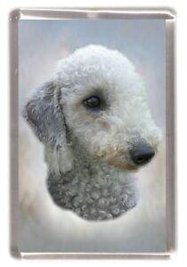 Bedlington Terrier  Fridge Magnet by Starprint - Auto combined postage