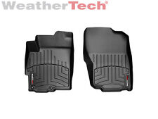 WeatherTech FloorLiner for Mitsubishi Lancer - 2008-2017 - 1st Row - Black