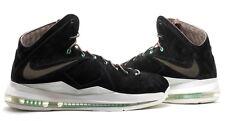 Nike LeBron EXT QS Black Suede Mint UK9 US10 EU43 Cork Denim Hazelnut MVP