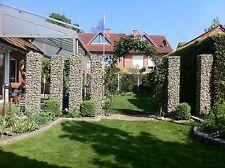 Gabionen Bochum, Gabione , 200 x 40 x 40 cm, MW 10x10, Sichtschutz, Zaun, Garten