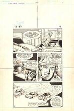 Flash Force 2000 #3 p.4 - Flash Rides w 'Vette Matchbox 1983 art by Sal Trapani Comic Art