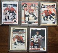 Ed Belfour Rookie RC Lot - 1990-91 Score Rookie Traded Pro Set Bowman Upper Deck
