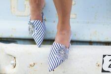 Zara Striped Mules Size 38,39,40