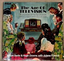 Milton Berle et al The Age of Television 1st 25 Years of TV 1971 RCA Sealed LP