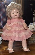 "Sweet Petite American Character 17"" Composition and Cloth Baby Doll"