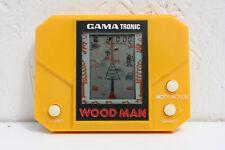 WOOD MAN GAMA TRONIC handheld electric  Video Game  Used Japan 1982 VTG works!