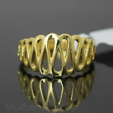 Brass Yellow Gold Plated Fashion Rings