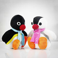 Anime Penguins Pingu Stuffed Plush Toy Doll Figure Gift 26 cm Set of 2