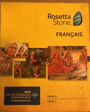 Learn French: Rosetta Stone French - Level 1 Version 4 NEW Francais
