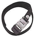 Wellgo Premium strap set for toe clips, Black Pair