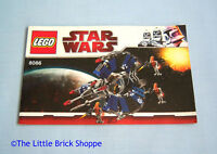Lego Star Wars 8086 Droid Tri-Fighter - INSTRUCTION BOOK ONLY - No Lego Bricks