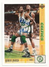 ROBERT PARISH - SIGNED/AUTO/AUTOGRAPH ON A BASKETBALL CARD - BOSTON CELTICS