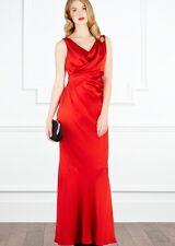 Coast ASOS Maxi Formal Fishtail Zelda Dress Red Dress - Size 8 BNWOT