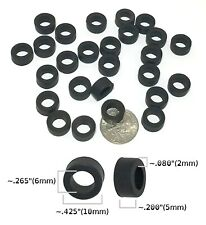 24 BTO HO Scale French Rubber FRONT TIRES fit Variety of Slot Car EARLY TYCO etc