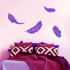 Feathers Wall Art Decal Home Decor Stickers Removable Stickers Vinyl New Year