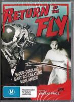 RETURN OF THE FLY - VINCENT PRICE -  NEW DVD FREE LOCAL POST