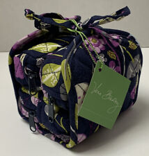 Vera Bradley All Wrapped Up Floral Nightingale Travel Jewelry Makeup Organizer