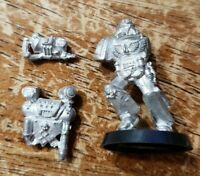 40K Chaos Space Marines Terminators Combi Flamer Side only Bits