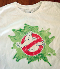 Ghostbusters Logo Slime t-shirt Large Official Licensed