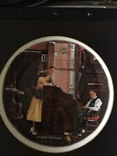 Norman Rockwell Saturday Evening Post 1976 The Marriage License plate