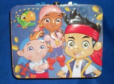 Jake and the Never land Pirates 24 Piece Puzzle in Embossed Metal Lunch Box