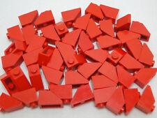 Lego 50 x Dachstein 1x2 Rot Dachsteine
