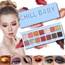 14 Colors Eyeshadow Palette Matte Glitter Powder Cosmetic Eye Shadow Makeup Set