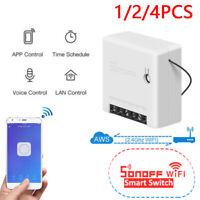 SONOFF MINI WiFi Smart Switch DIY APP Voice Remote Control for Alexa Google Home