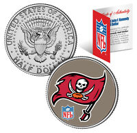 TAMPA BAY BUCCANEERS NFL JFK Kennedy Half Dollar US Coin  *Officially Licensed*