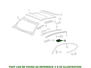 Genuine Roof Molding Strip Clip 99655940301 for Porsche 911 99-13 Cayman 06-12