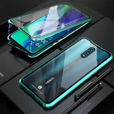 Oppo A9 A5 2020 Reno 2 2Z 5G 10X Zoom Metal Magnetic 360 Phone Case Cover
