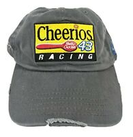 Nascar Cheerios Racing 43 Cap Hat Gray Distressed Grunge Petty Enterprise Rare