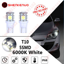 Fits Honda Civic MK7 2.2 501 W5W LED Superlux White Side Lights ICE Bulbs XE1