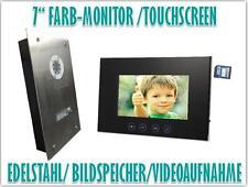 """7"""" Monitor Türsprechanlage Gegensprechanlage Türklingel Video Bildspeicher"""
