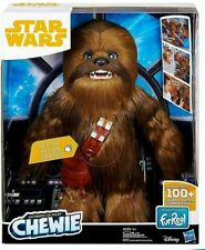 NEW Star Wars Hasbro FurReal Ultimate Co-pilot Chewie Interactive Plush Toy