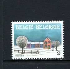 Belgium 1988 Christmas And New Year Winter Landscape Sc 1303 Mnh