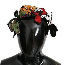 DOLCE & GABBANA Headband Tiara Floral Butterfly floral Diadem One Size