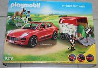 Playmobil 9376 - Porsche Macan GTS mit Pferdeanhänger  NEU / OVP