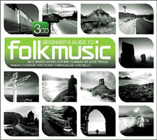 BEGINNER'S GUIDE TO FOLK MUSIC ****** NEW SEALED 3 CD SET  ******