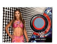 WWE Mickie James 2018 Topps Women's Division Mat Relic Card SN 135 of 199