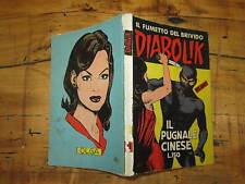 DIABOLIK ORIGINALE PRIMA SERIE NUMERO 23 IL PUGNALE CINESE SODIP NOVEMBRE 1964