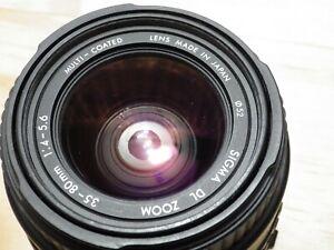 Sigma DL Zoom Lens 35-80mm 1.4-5.6 Japan