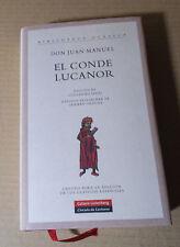 Libro,EL CONDE LUCANOR, Don Juan Manuel. Círculo de lectores 2006