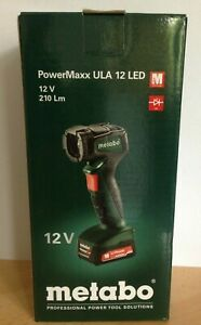 Metabo Akku-Handlampe PowerMaxx ULA 12 LED (600788000) Karton