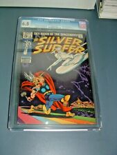 SILVER SURFER #4 CGC 6.5 SILVER AGE KEY OW 1st SURFER VS THOR ICONIC COVER 1969