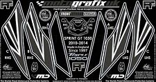 Triumph Sprint GT 1050 2010 - 2014 Front Fairing Number Board 3D Gel Protector