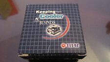 Ventilador - Cooler - 9x9x2,5 cms - 90x90x25 mm - Titan - Nuevo - New