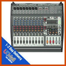 Behringer Europower PMP4000 Flatbed Mixer Amplifier Mixing Desk