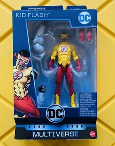 """Kid Flash 6"""" Action Figure DC Multiverse New Sealed"""